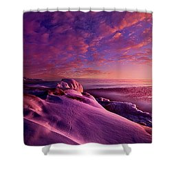 Shower Curtain featuring the photograph From Inside The Heart Of Each by Phil Koch