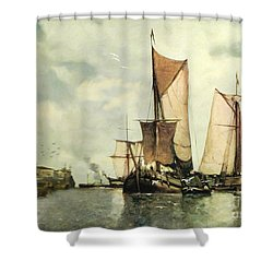 From Sail To Steam - Transitions Shower Curtain