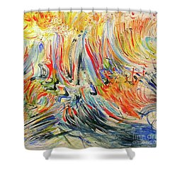 From Soul To Canvas Shower Curtain