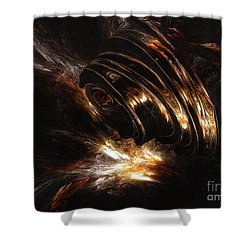 From The Beyond Shower Curtain