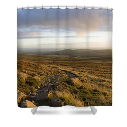 From The Black Mountain Shower Curtain