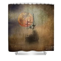From The Darkness Shower Curtain by Barbara Dudzinska