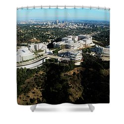 From The Getty To Downtown L.a. Shower Curtain
