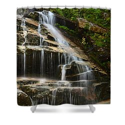 From The Highest Peaks Shower Curtain