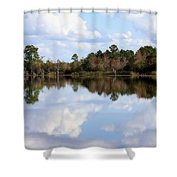 Shower Curtain featuring the photograph From The Lake To The Channel  by Debra Forand