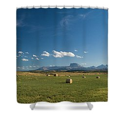 From The Prairie To The Rockies Shower Curtain