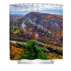 From The Top Of Mount Tammany Shower Curtain