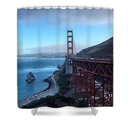 Golden Gate Bridge Vista Shower Curtain