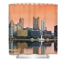 From West End Bridge Shower Curtain