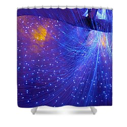 From Whence Light Comes Shower Curtain