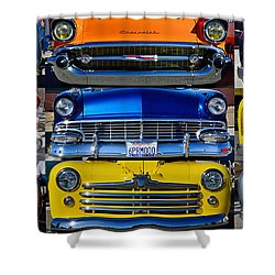 Front Ends Shower Curtain