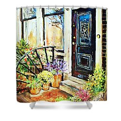 Front Porch Shower Curtain
