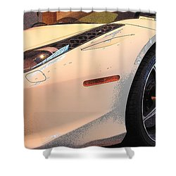 Front Quarter Shower Curtain