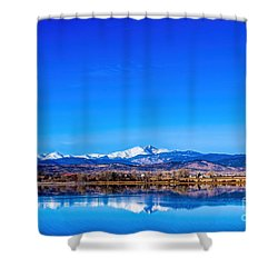 Front Range View Shower Curtain