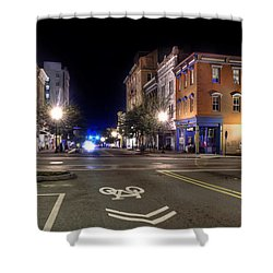 Front Street In Wilmington North Carolina Shower Curtain