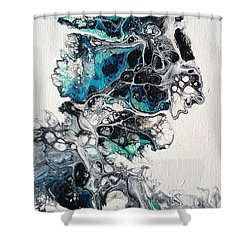 Frost And Ice Shower Curtain