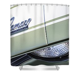 Frost Green Camaro Shower Curtain