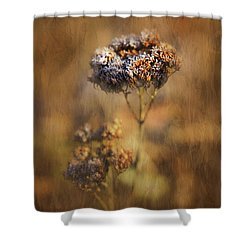 Frosted Bloom Shower Curtain
