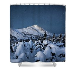 Frosty False Omalley C Shower Curtain