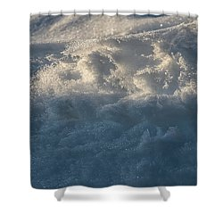 Frosty Texture -  Shower Curtain
