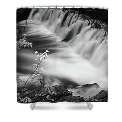 Frothy Falls Shower Curtain