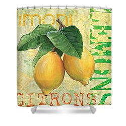 Froyo Lemon Shower Curtain