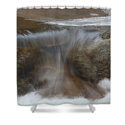 Frozen But Still Moving Shower Curtain