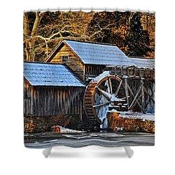Frozen Mill Shower Curtain