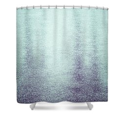 Frozen Reflections Shower Curtain by Wim Lanclus