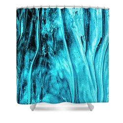 Shower Curtain featuring the photograph Frozen Wonder by Sandra Bronstein