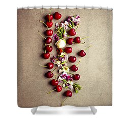 Fruit Art Shower Curtain