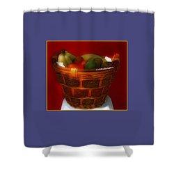 Fruit  Art 3 Shower Curtain