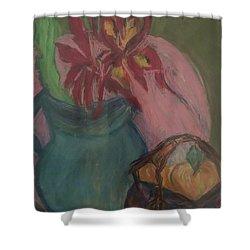Fruit Basket Shower Curtain