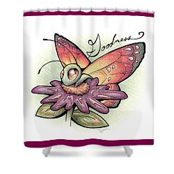Fruit Of The Spirit Goodness Shower Curtain