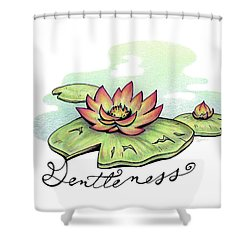 Fruit Of The Spirit Series 2 Gentleness Shower Curtain