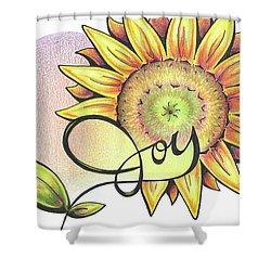 Fruit Of The Spirit Series 2 Joy Shower Curtain