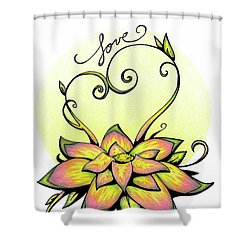 Fruit Of The Spirit Series 2 Love Shower Curtain