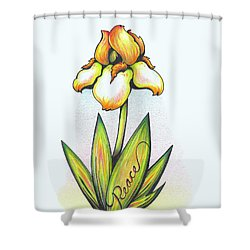 Fruit Of The Spirit Series 2 Peace Shower Curtain