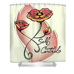 Fruit Of The Spirit Series 2 Self Control Shower Curtain