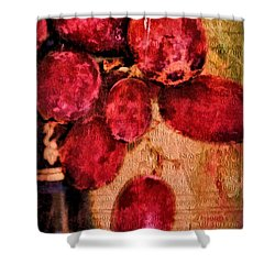 Shower Curtain featuring the photograph Fruit Of The Vine by Wallaroo Images