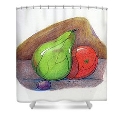 Fruit Still 34 Shower Curtain