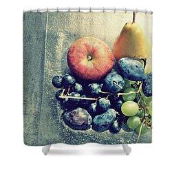 Fruitful Autumn Shower Curtain