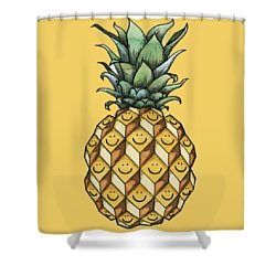 Fruitful Shower Curtain by Kelly Jade King