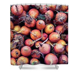 Shower Curtain featuring the photograph Fruits And Vegetable At Farmer Market by Jingjits Photography