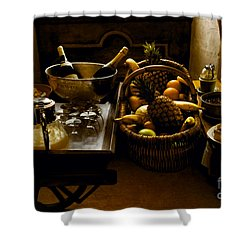 Fruits Of France Shower Curtain by Madeline Ellis