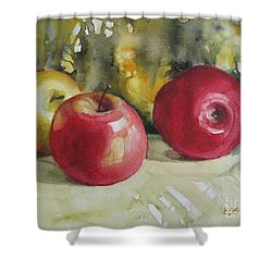 Fruits Of The Earth Shower Curtain by Elena Oleniuc