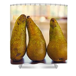 Fruity Family Shower Curtain