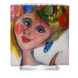 Fruity Fascinator  Shower Curtain