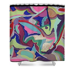 Fruity Land Shower Curtain