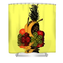 Fruity Reflections - Light Shower Curtain